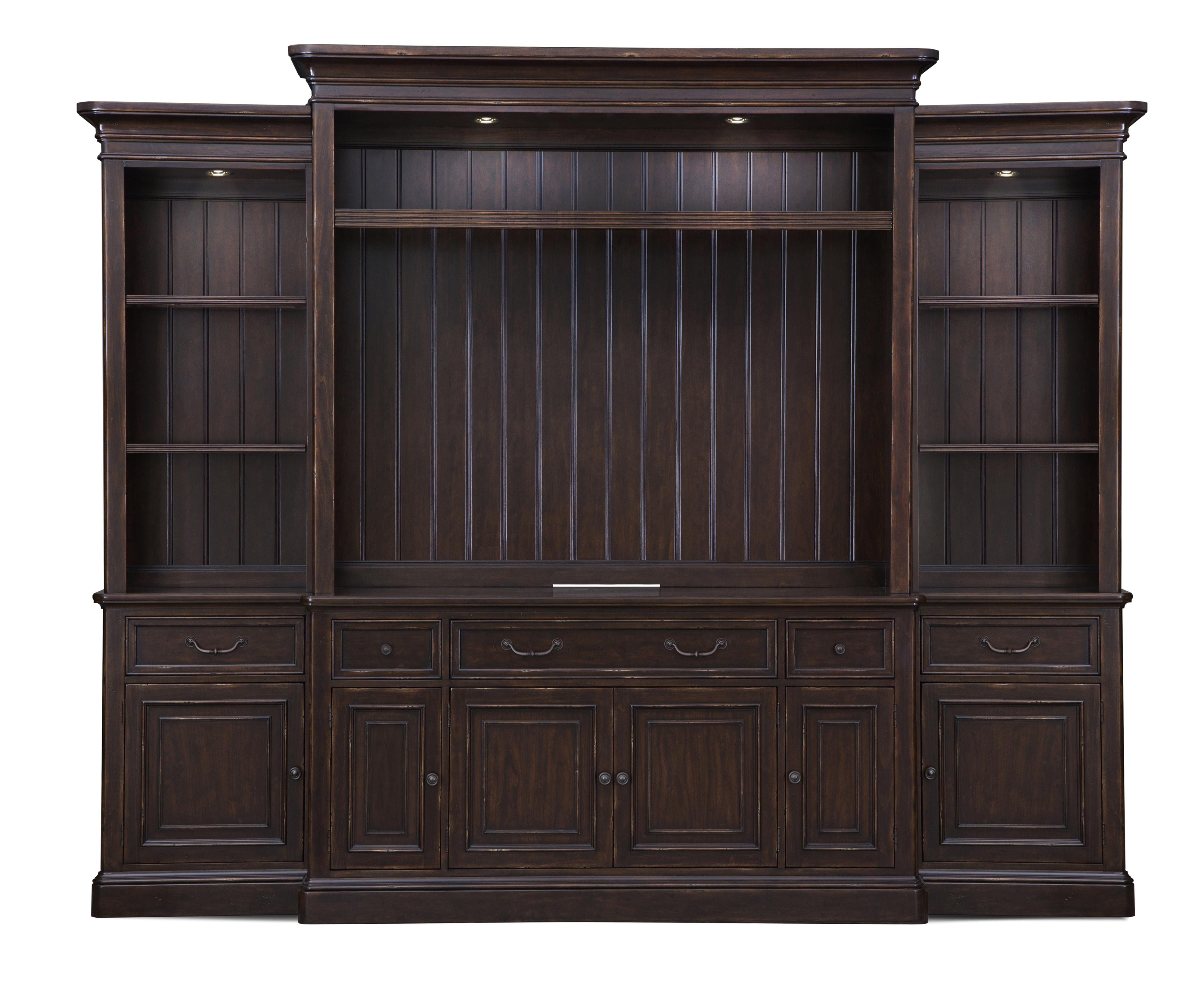 Belfort Select Lafayette Entertainment Wall Unit - Item Number: E2352-05+35+25