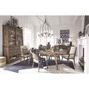 Magnussen Home Bluff Heights Formal Dining Room Group - Item Number: D4597 Dining Room Group 1