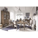 Magnussen Home Bluff Heights Formal Dining Room Group - Item Number: D4597 Dining Room Group 2
