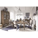 Magnussen Home Bluff Heights Formal Dining Room Group - Item Number: D4597 Dining Room Group 3