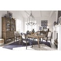 Magnussen Home Bluff Heights Formal Dining Room Group - Item Number: D4597 Dining Room Group 7