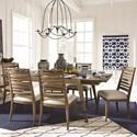 Magnussen Home Bluff Heights 7 Piece Dining Set - Item Number: D4597-20+6x62