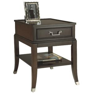 Magnussen Home Lakefield Rectangular End Table