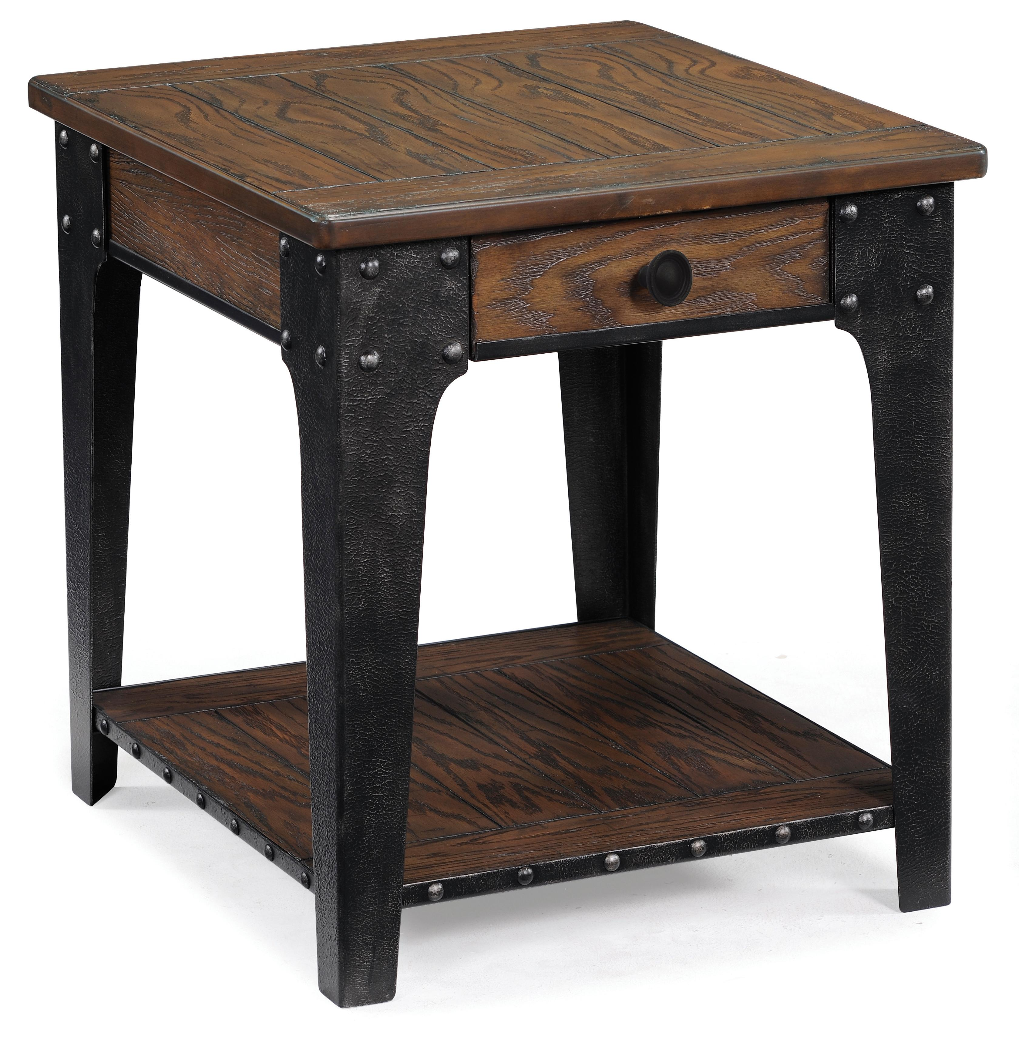Magnussen Home Lakehurst Rectangular End Table - Item Number: 1806-03