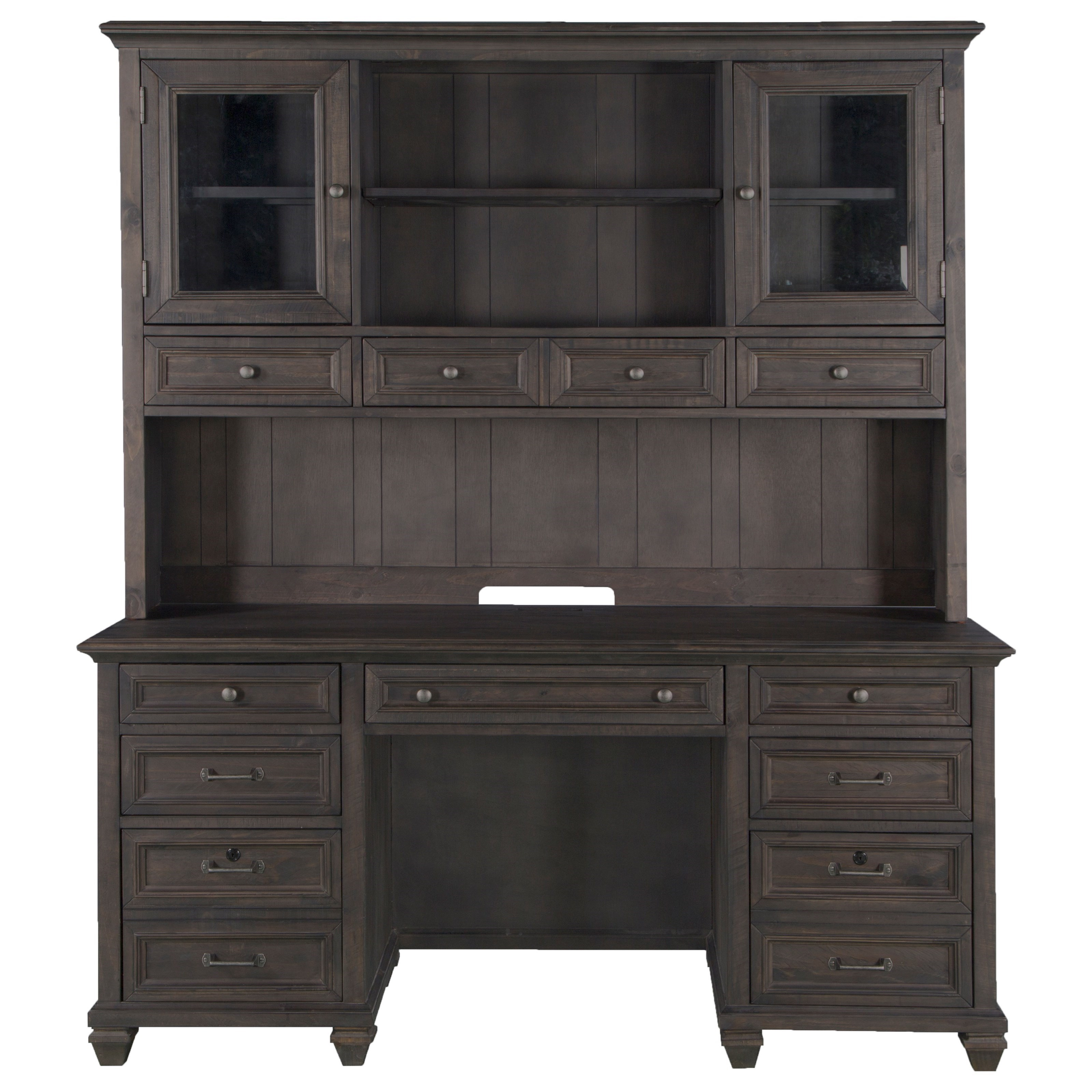 Sutton Place Hutch by Magnussen Home at Baer's Furniture