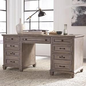 Magnussen Home Lancaster Executive Desk