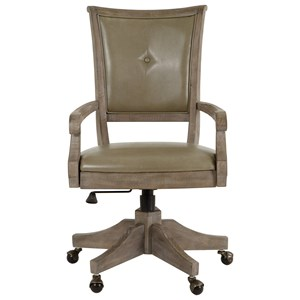 Upholstered Swivel Chair