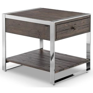 Magnussen Home Lawson Occ Rectangular End Table