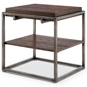 Magnussen Home Linville Rectangular End Table