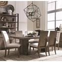 Magnussen Home Granada Hills 7 Piece Dining Set - Item Number: D4592-20+2x63+4x62