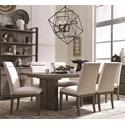 Magnussen Home Granada Hills 7 Piece Dining Set - Item Number: D4592-20+6x63