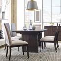Magnussen Home MacArthur Terrace  7 Piece Dining Set - Item Number: D4593-20+2x63+4x62