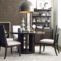 Magnussen Home MacArthur Terrace  5 Piece Dining Set - Item Number: D4593-22+4x62