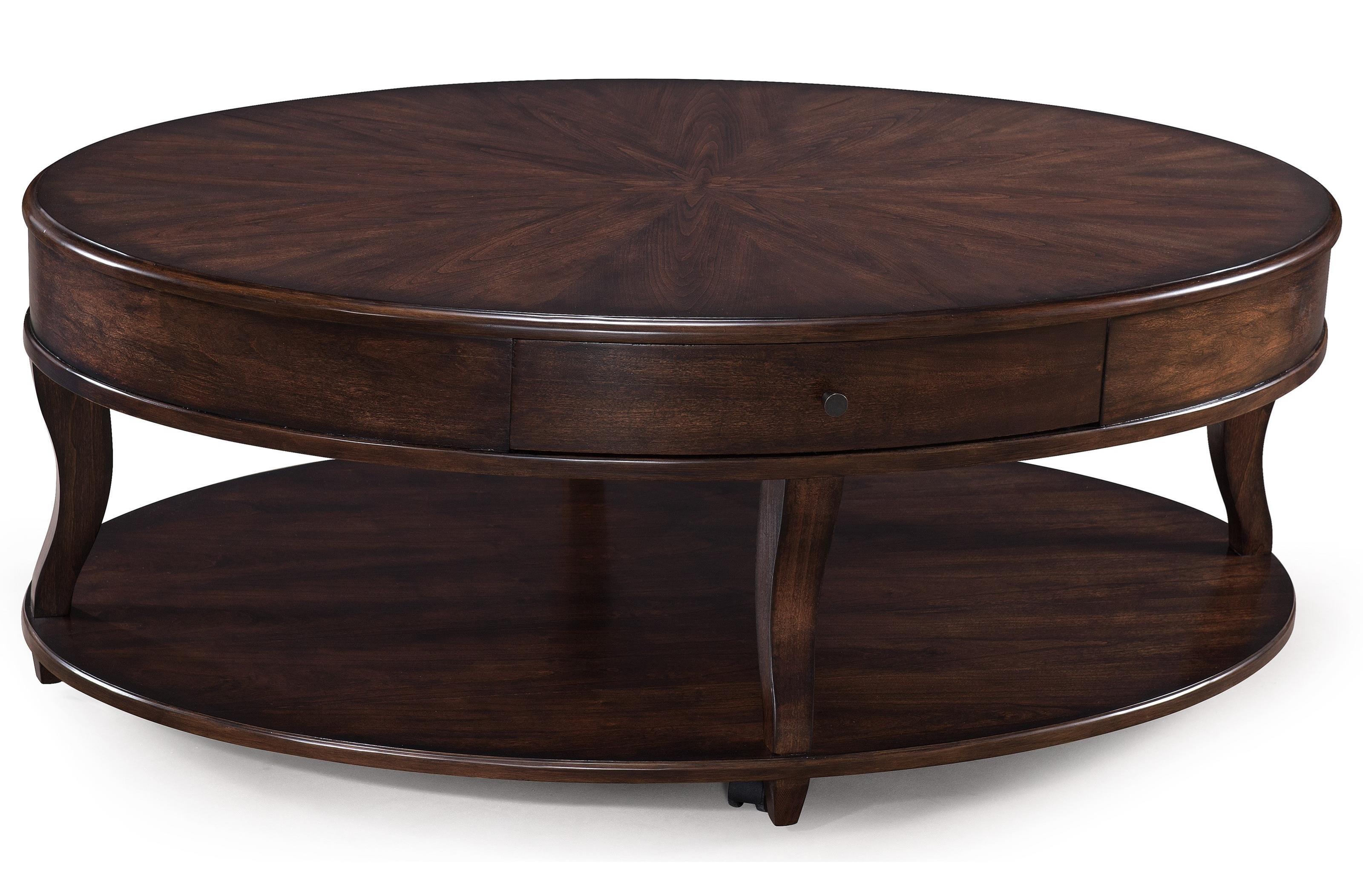 Magnussen Home Madelyn Oval Cocktail Table - Item Number: T3607-47