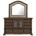 Magnussen Home Durango Dresser and Mirror Set - Item Number: B5133-20+B5133-45