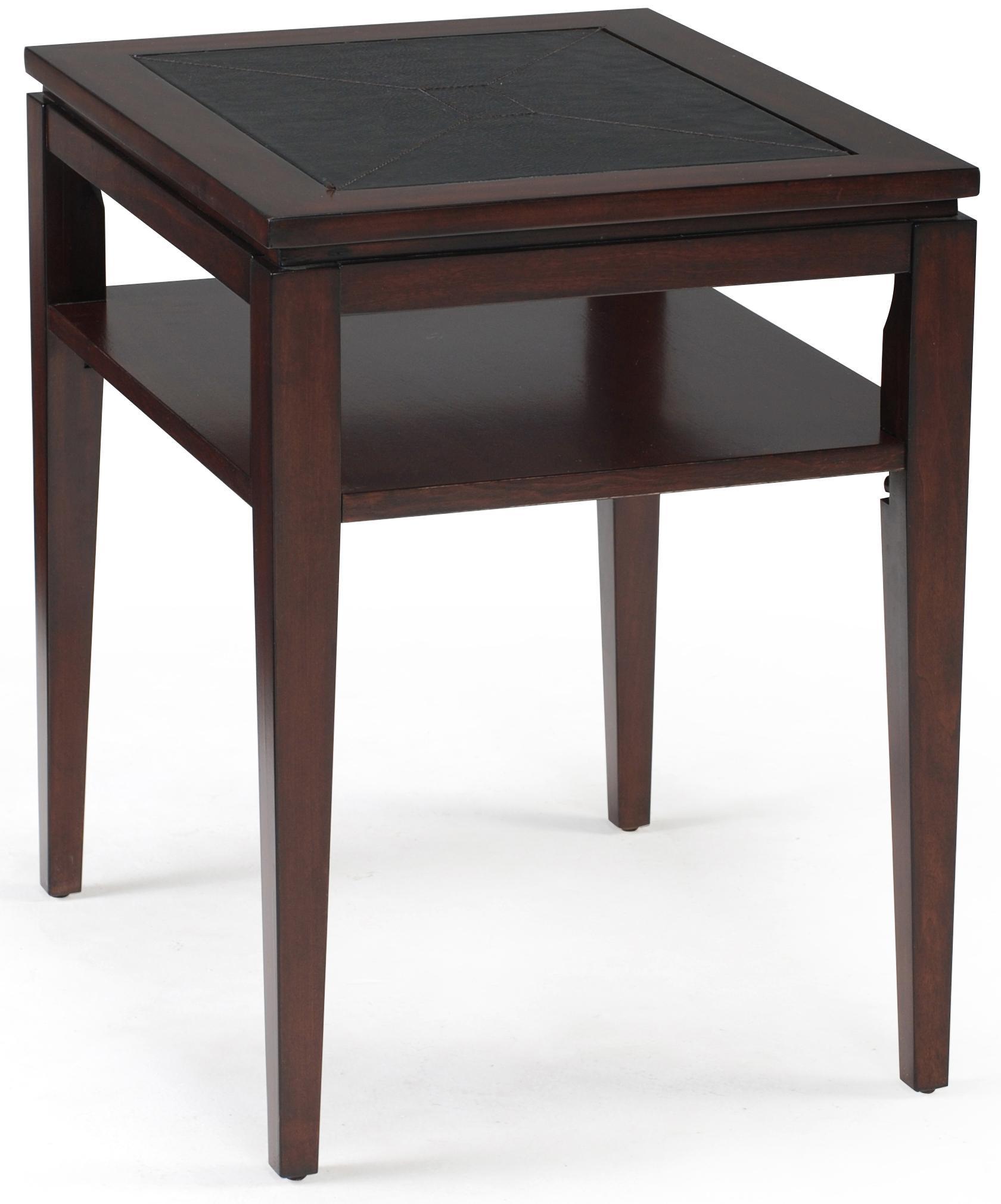 Magnussen Home Micah Rectangular End Table - Item Number: T1508-03