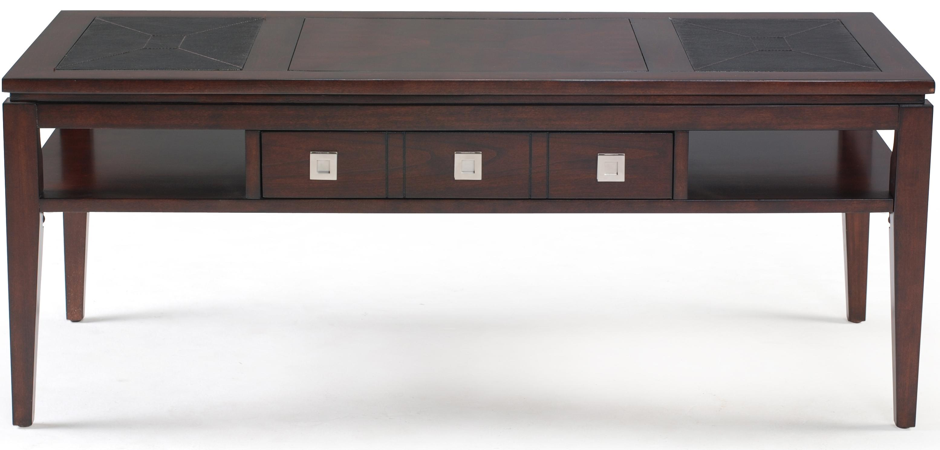 Magnussen Home Micah Rectangular Cocktail Table - Item Number: T1508-43