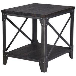 Magnussen Home Milford Rectangular End Table