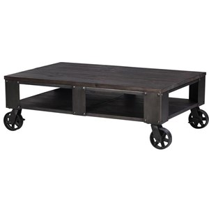 Magnussen Home Milford Rectangular Cocktail Table