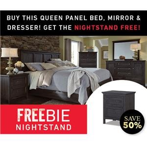 Silver Lake Queen Bed Set with Freebie!