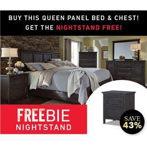 Silver Lake King Bed Set with Freebie!