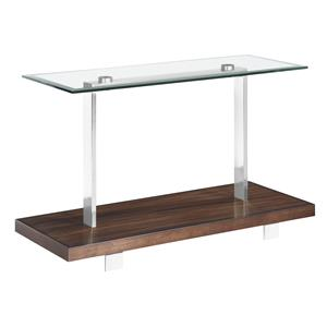 Magnussen Home Modern Loft Rectangular Sofa Table