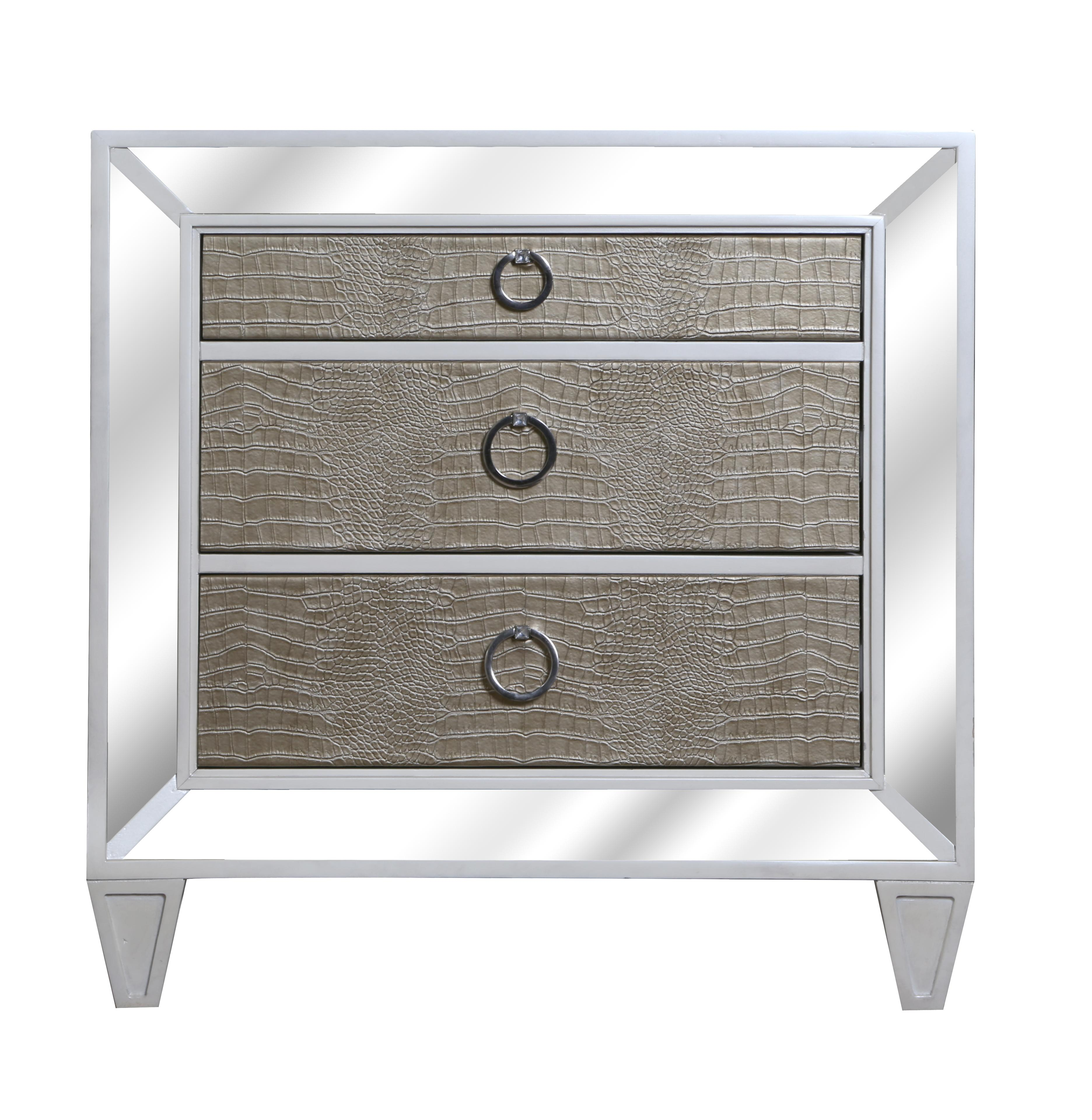 Magnussen Home Monroe Drawer Nightstand - Item Number: B2935-01