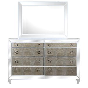 Magnussen Home Monroe Dresser and Mirror