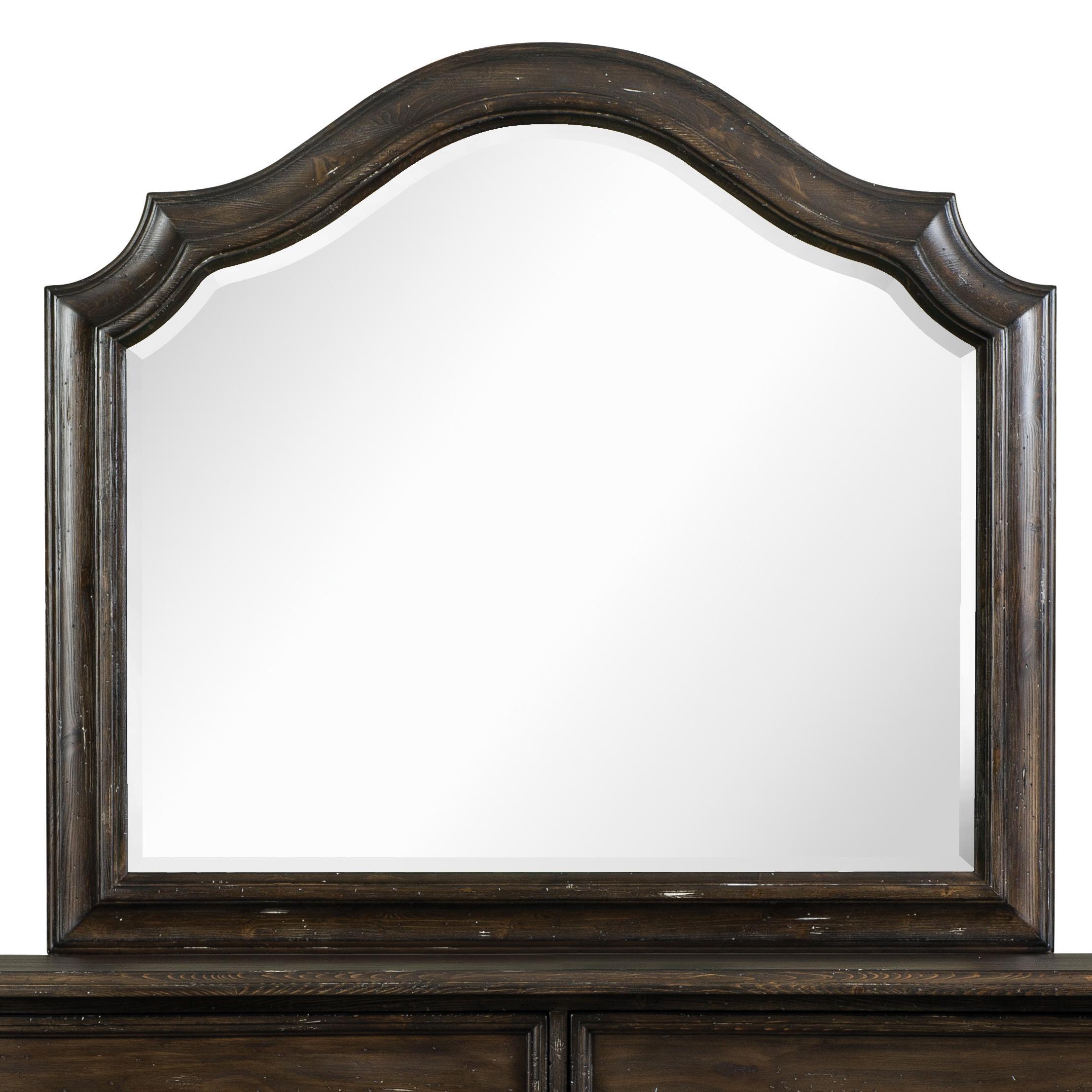 Magnussen Home Muirfield Bedroom Shaped Mirror - Item Number: B2258-45