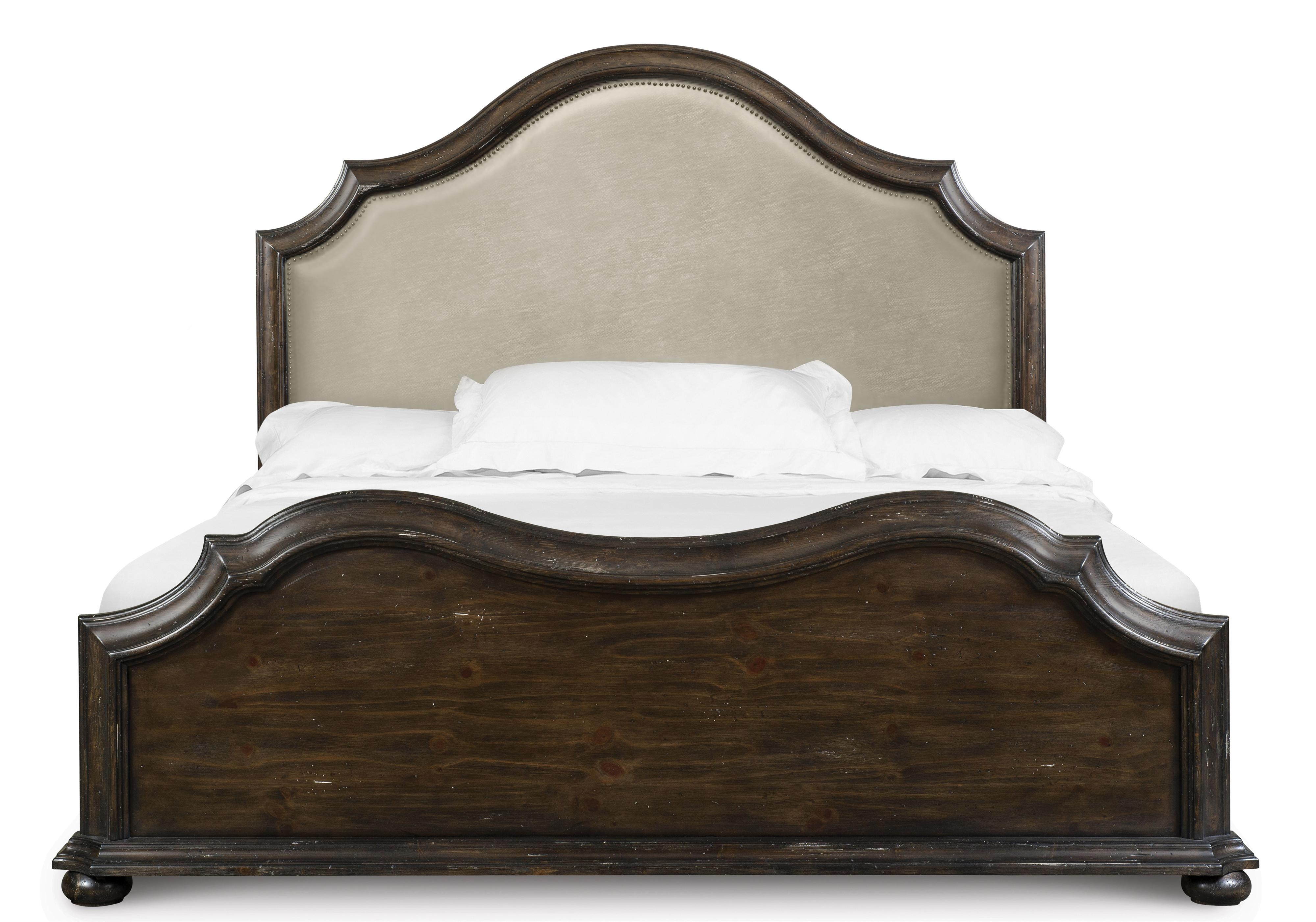 Magnussen Home Muirfield Bedroom California King Upholstered Bed - Item Number: B2258-65H+64F+74R