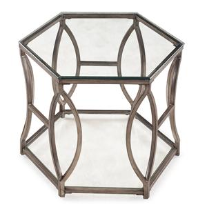 Belfort Select Nevelson Hexagonal End Table