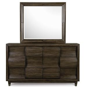 Magnussen Home Noma Dresser with Mirror