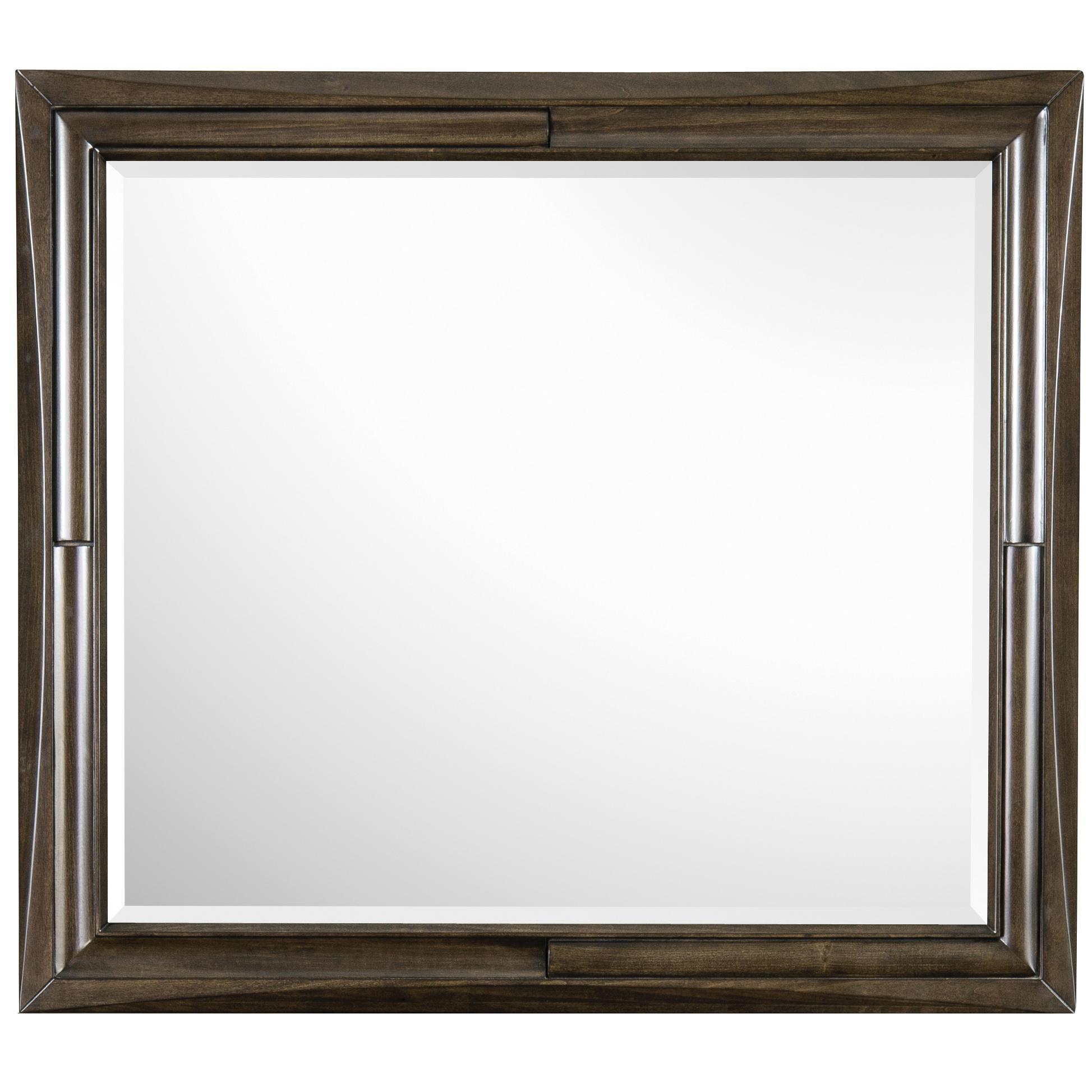 Magnussen Home Noma Landscape Mirror - Item Number: B2640-40