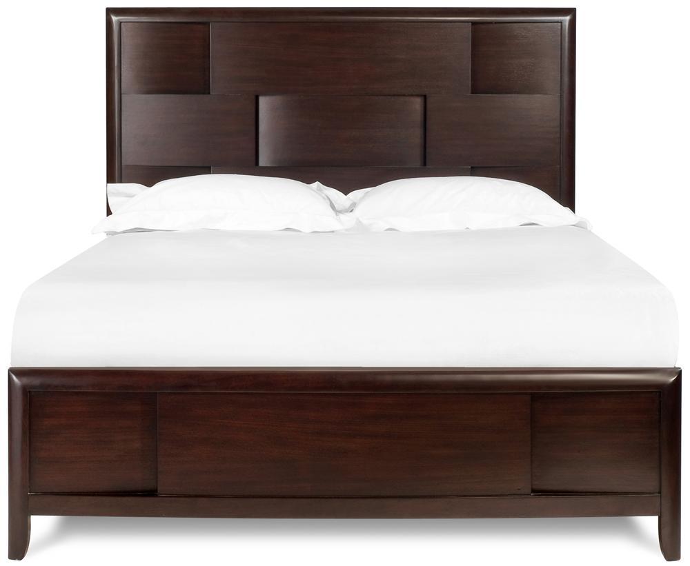 Magnussen Home Nova King Platform Bed - Item Number: B1428-60H+60F+50R