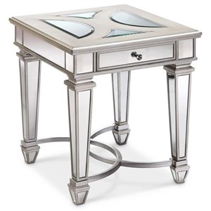 Magnussen Home Novella Rectangular End Table