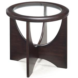 Magnussen Home Okani Oval End Table