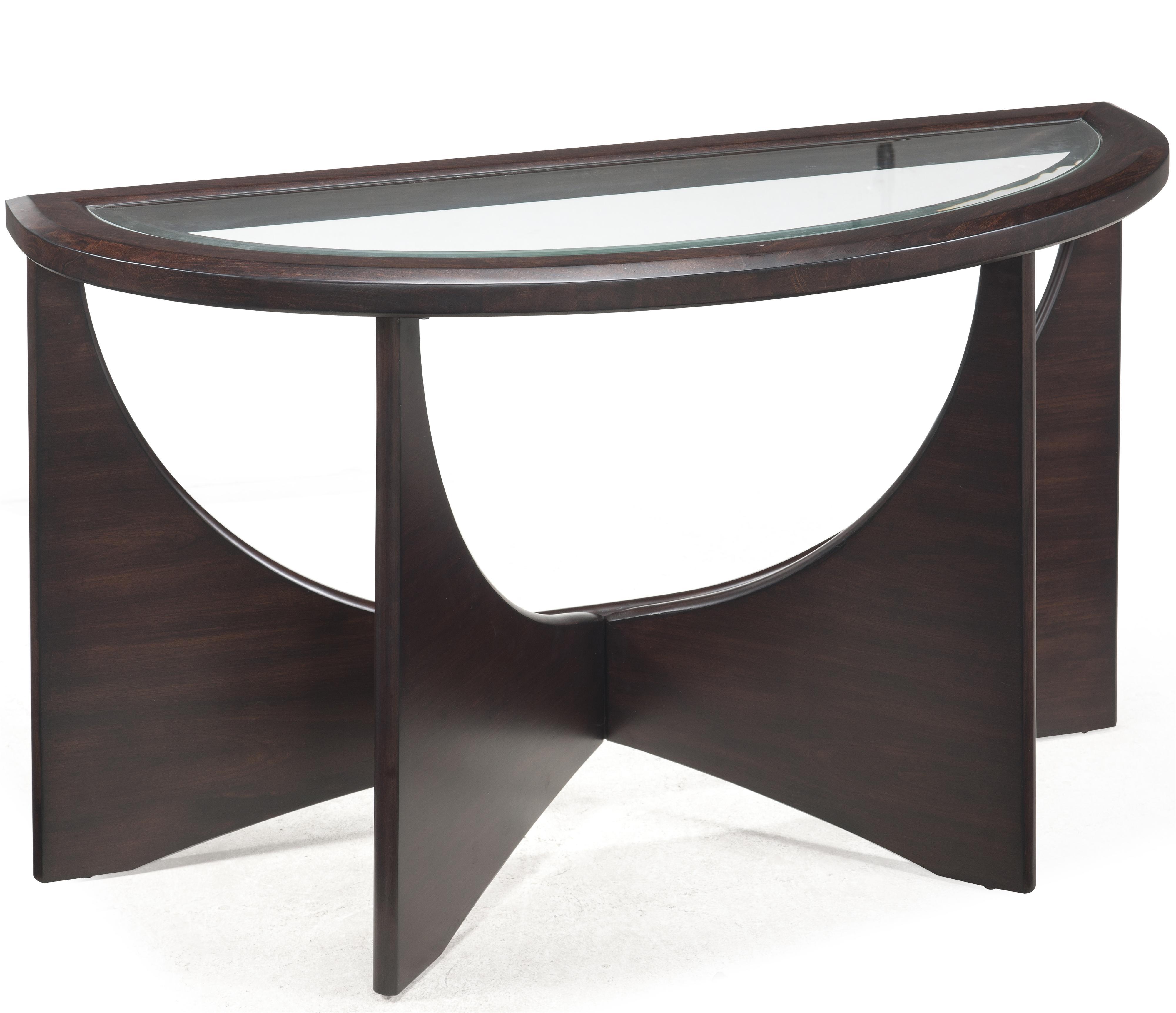 Belfort Select Okani Demilune Sofa Table - Item Number: T2361-75