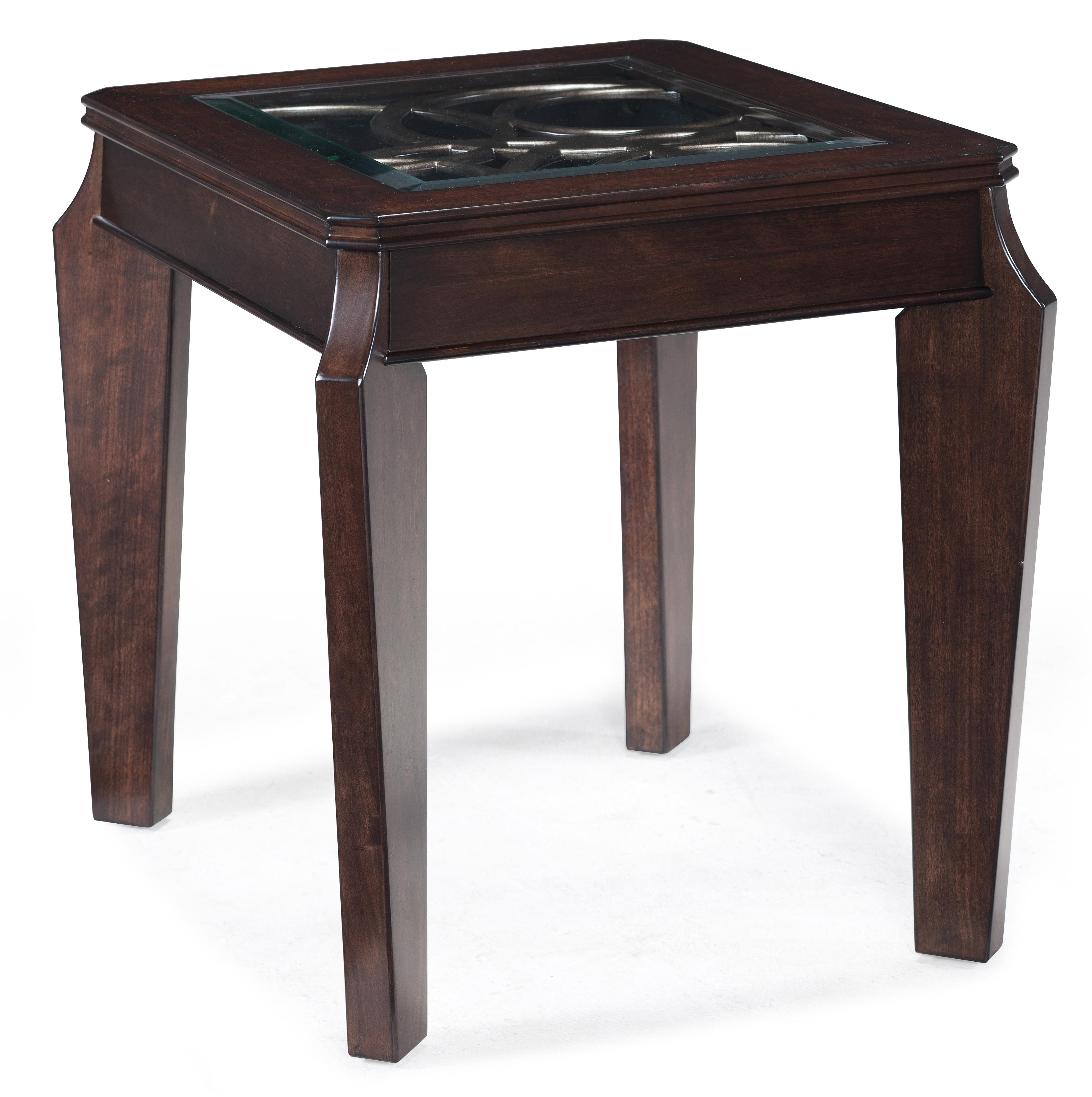 Magnussen Home Ombrio Rectangular End Table - Item Number: T2034-03