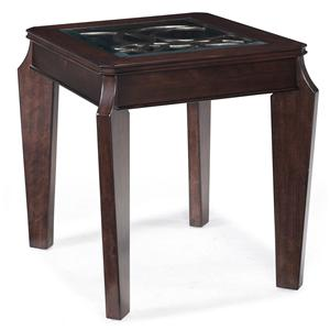 Magnussen Home Ombrio Rectangular End Table