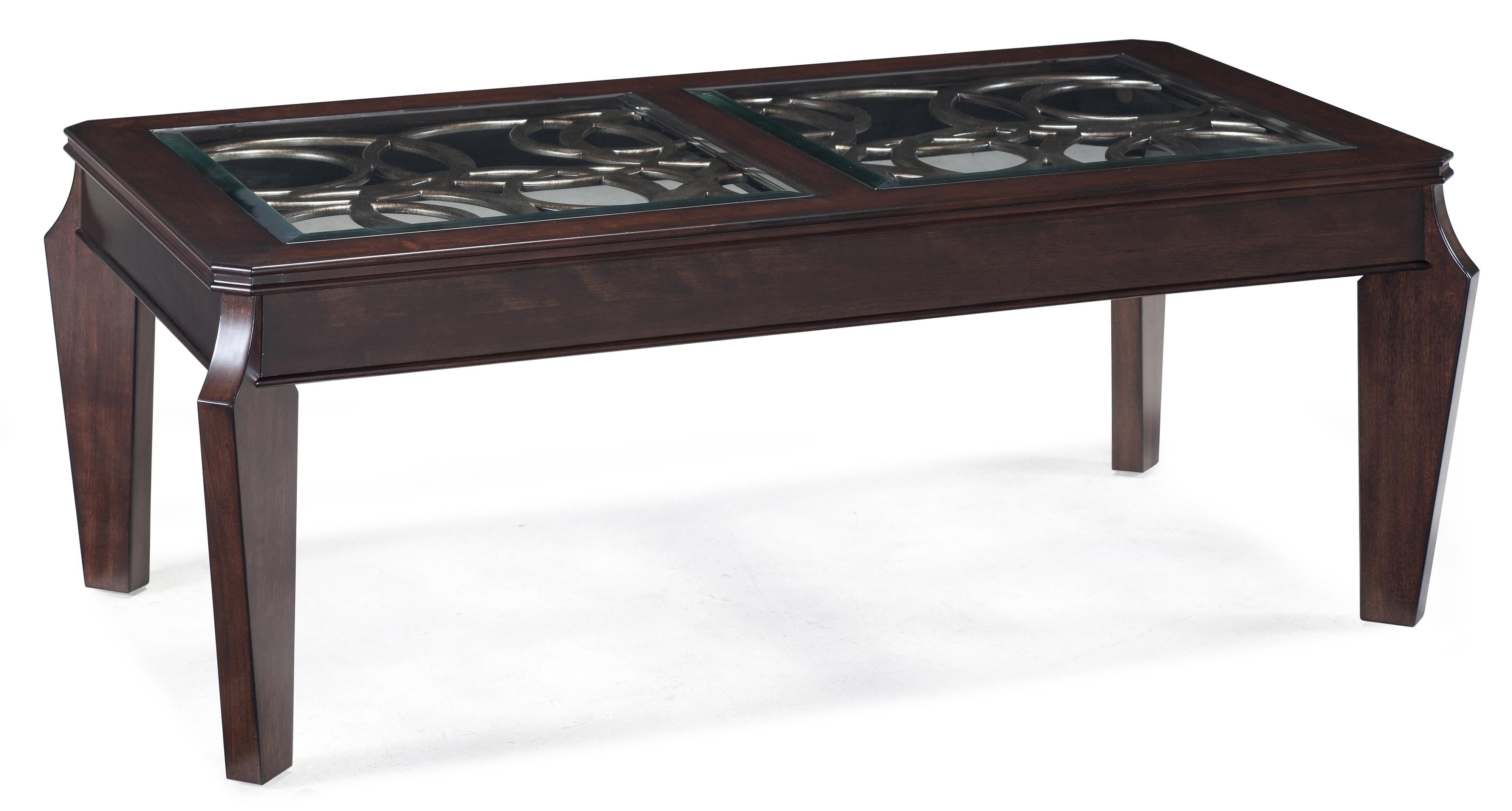 Magnussen Home Ombrio Rectangular Cocktail Table - Item Number: T2034-43