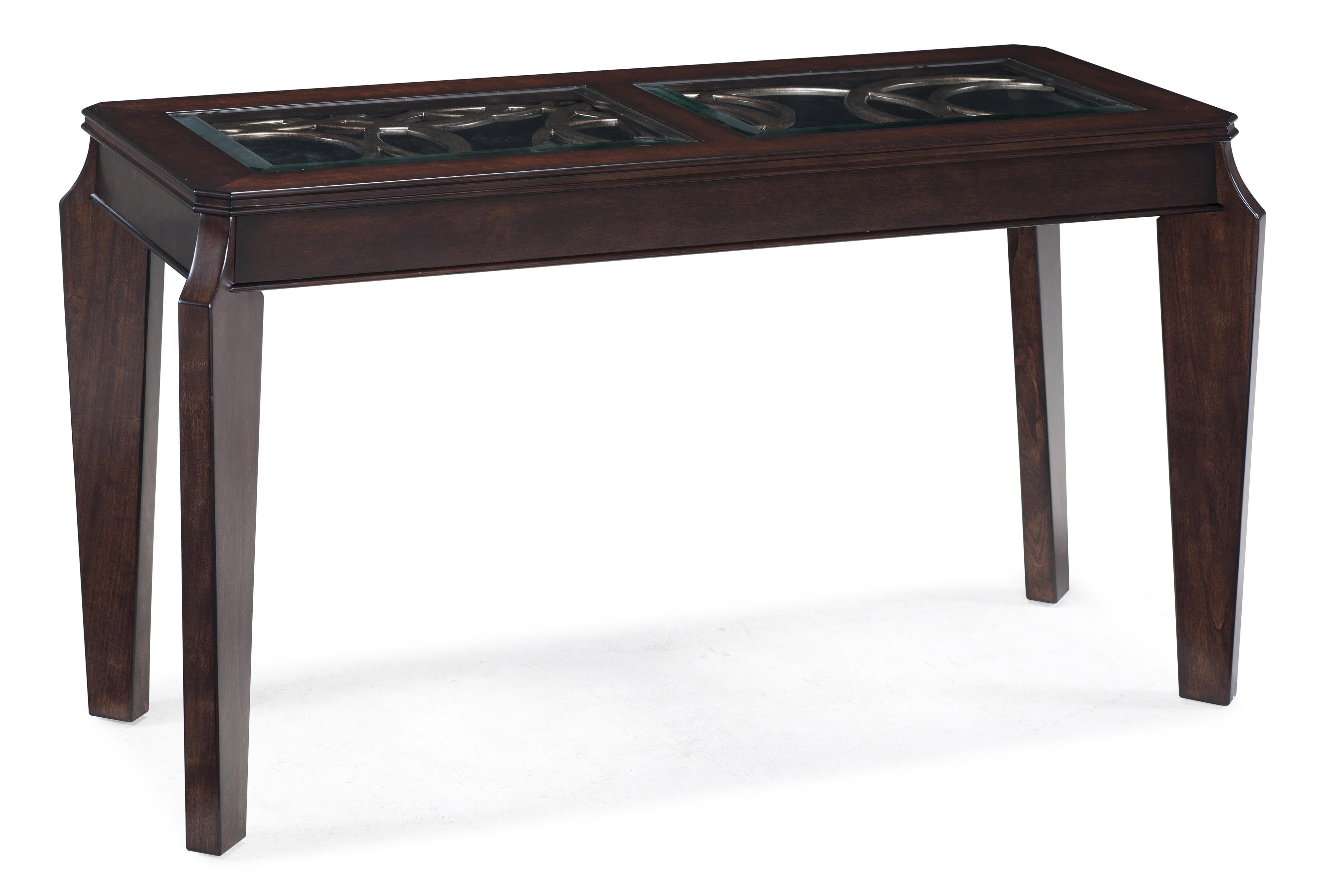 Magnussen Home Ombrio Rectangular Sofa Table - Item Number: T2034-73