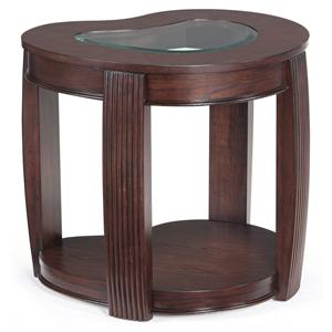 Magnussen Home Ormond Shaped End Table