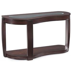 Magnussen Home Ormond Shaped Sofa Table