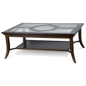 Magnussen Home Parsons Rectangular Cocktail Table
