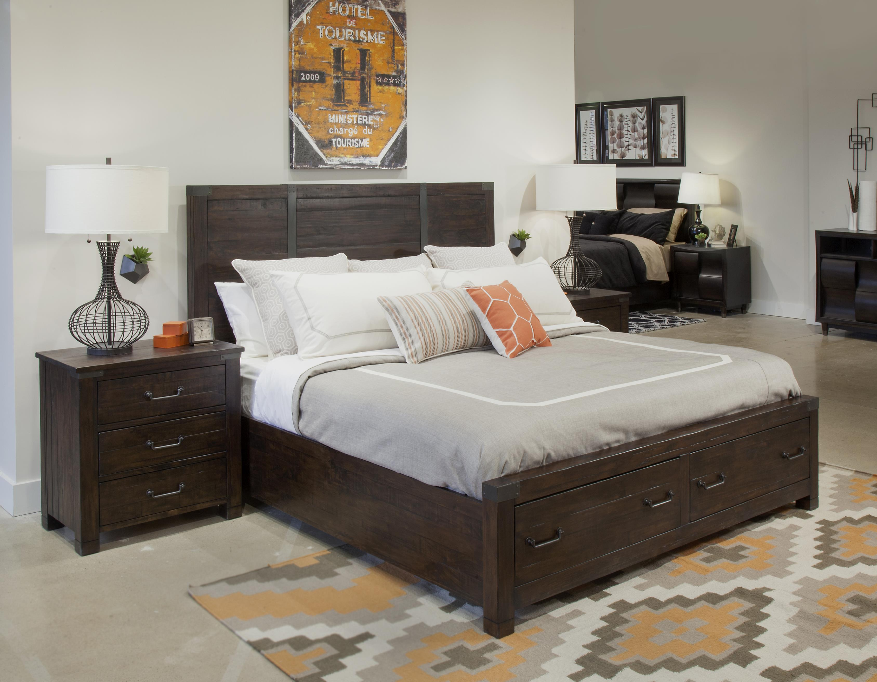 Magnussen Home Pine Hill California King Bedroom Group 3