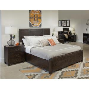 Magnussen Home Pine Hill Queen Bedroom Group 3