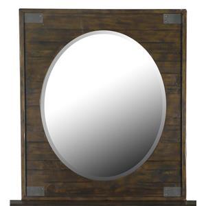 Magnussen Home Pine Hill Portrait Oval Mirror