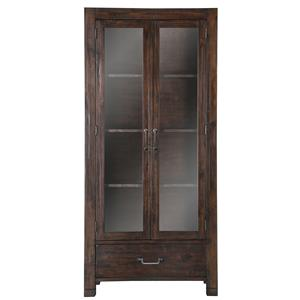 Magnussen Home Pine Hill Curio Cabinet