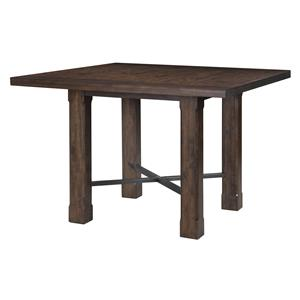 Magnussen Home Pine Hill Square Counter Table