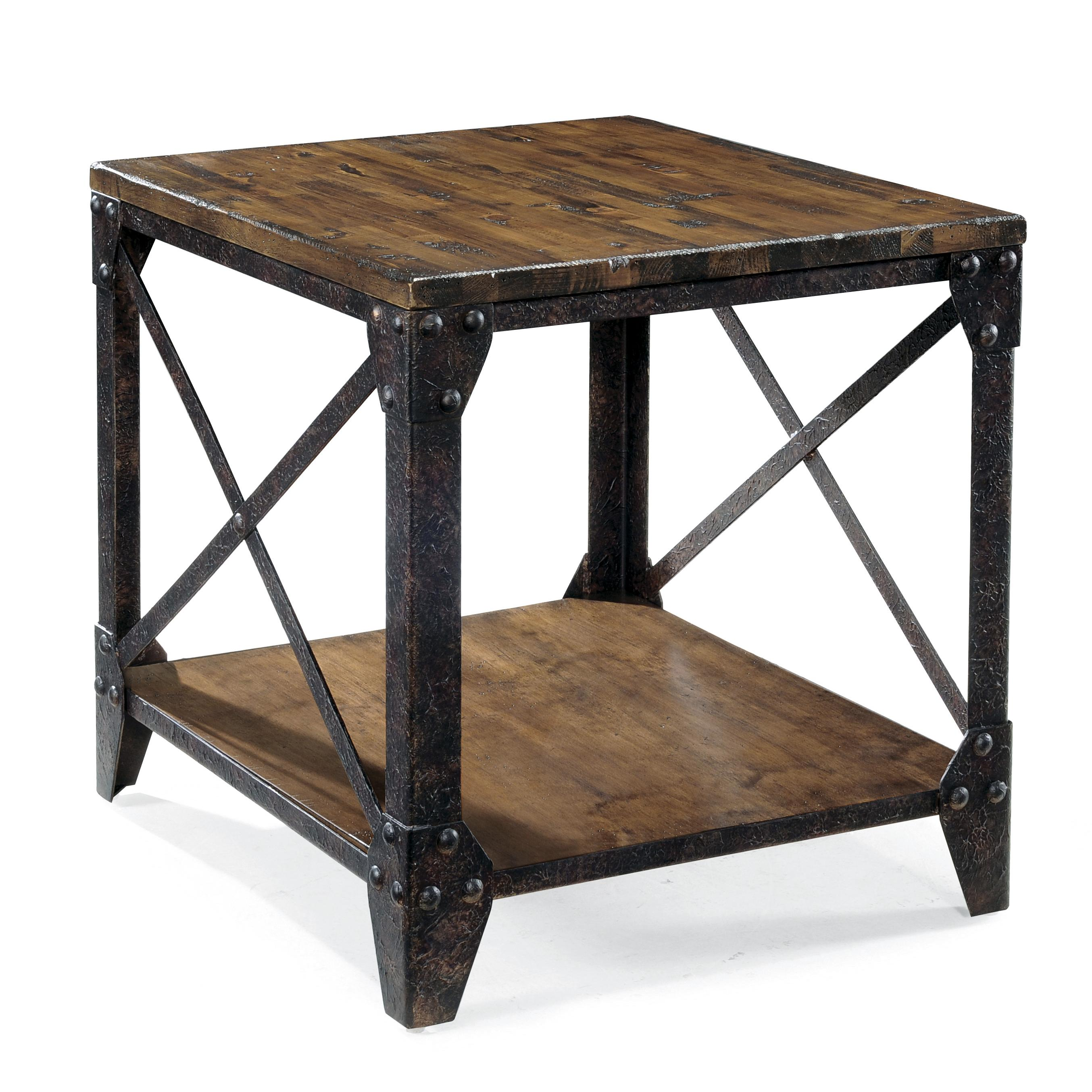 Belfort Select Pinebrook Rectangular End Table - Item Number: T1755-03